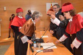 El Colegio Oficial de Pilotos celebra el nombramiento de la piloto Bettina Kadner como doctora honoris causa por la URV