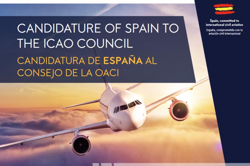 COPAC apoya la candidatura de España al Consejo de la Organización Civil de Aviación Internacional