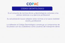 El Colegio Oficial de Pilotos actualiza su Código Deontológico